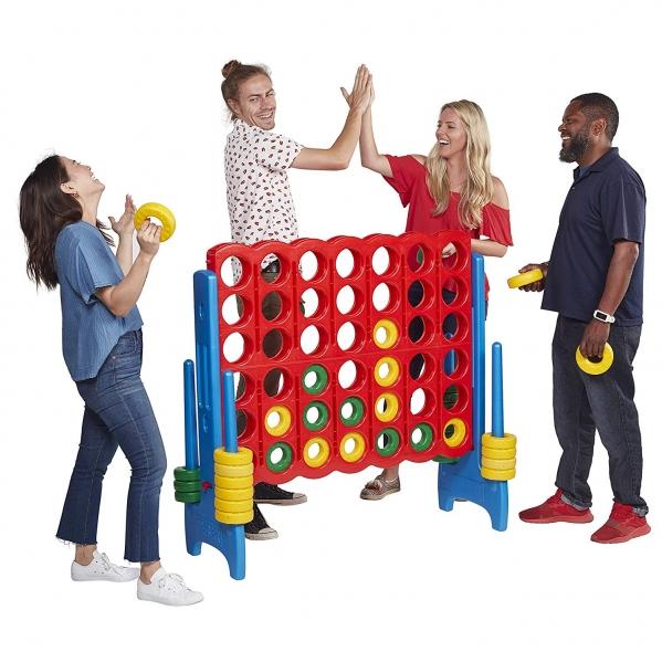 BabyQuip - Baby Equipment Rentals - Super Giant Connect 4 (Adult Size) - Super Giant Connect 4 (Adult Size) -