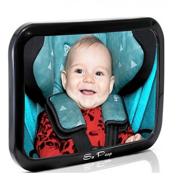 BabyQuip - Baby Equipment Rentals - Backseat Car Mirror - Backseat Car Mirror -