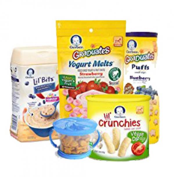 BabyQuip - Baby Equipment Rentals - Baby Snack Bundle - Baby Snack Bundle -