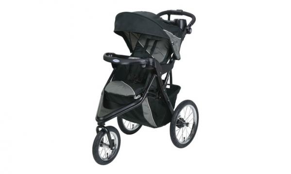 BabyQuip - Baby Equipment Rentals - Single Stroller: Graco Trax Jogging - Single Stroller: Graco Trax Jogging -
