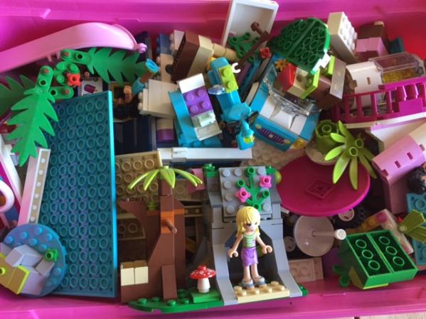 BabyQuip - Baby Equipment Rentals - Pink Legos - Pink Legos -