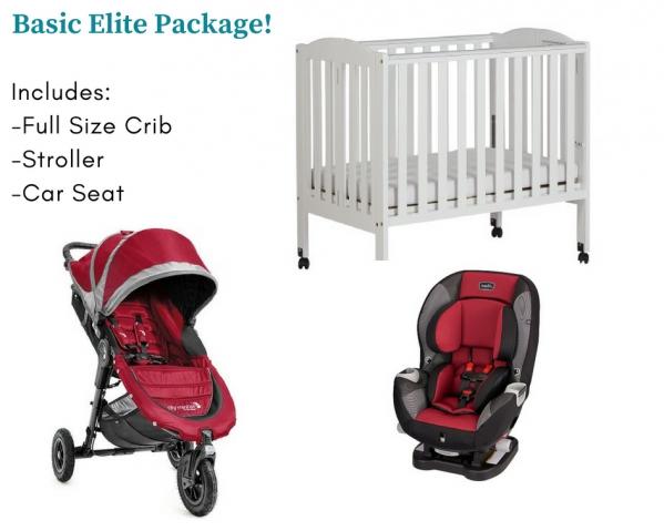BabyQuip - Baby Equipment Rentals - Basics Elite Package (Save +20%) - Basics Elite Package (Save +20%) -