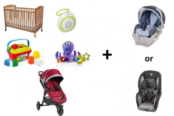 BabyQuip - Baby Equipment Rentals - Baby package 6-18 months (Save 20%) - Baby package 6-18 months (Save 20%) -