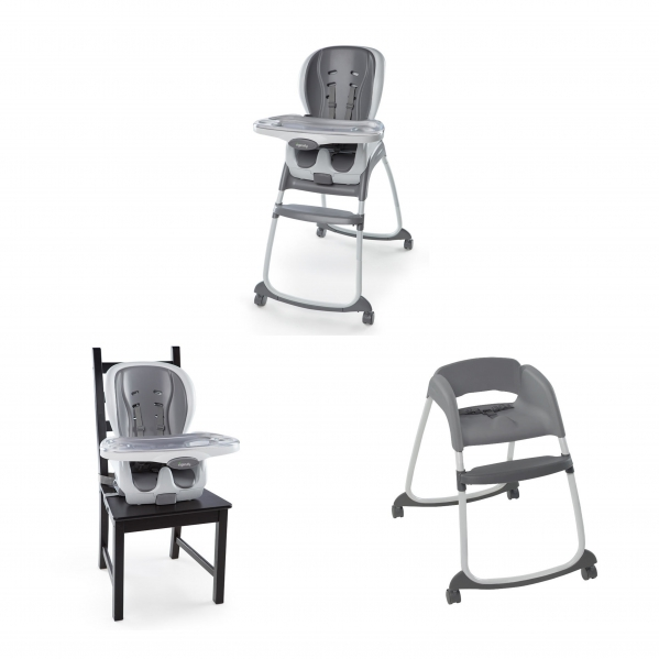 BabyQuip - Baby Equipment Rentals - Full-Size High Chair with 3 Modes - Perfect for 2! - Full-Size High Chair with 3 Modes - Perfect for 2! -