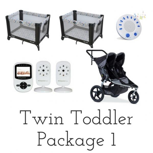 BabyQuip - Baby Equipment Rentals - Package - Twin Toddlers #1 - Package - Twin Toddlers #1 -