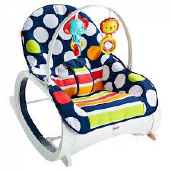 BabyQuip - Baby Equipment Rentals - Infant to Toddler Rocker - Infant to Toddler Rocker -