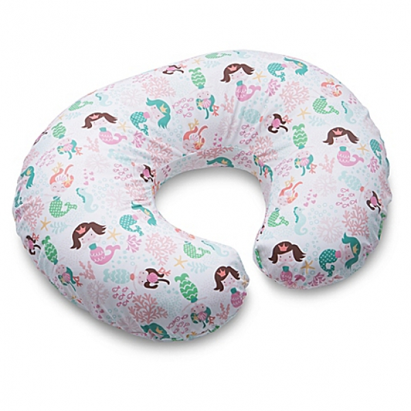 BabyQuip - Baby Equipment Rentals - Boppy with cover - Boppy with cover -