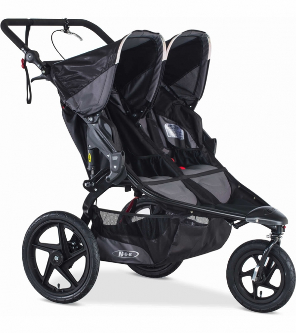 BOB Duallie High-End Double Jogging Stroller
