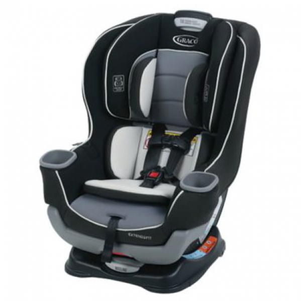 BabyQuip - Baby Equipment Rentals - Convertible Car Seat: Graco Extend2Fit - Convertible Car Seat: Graco Extend2Fit -