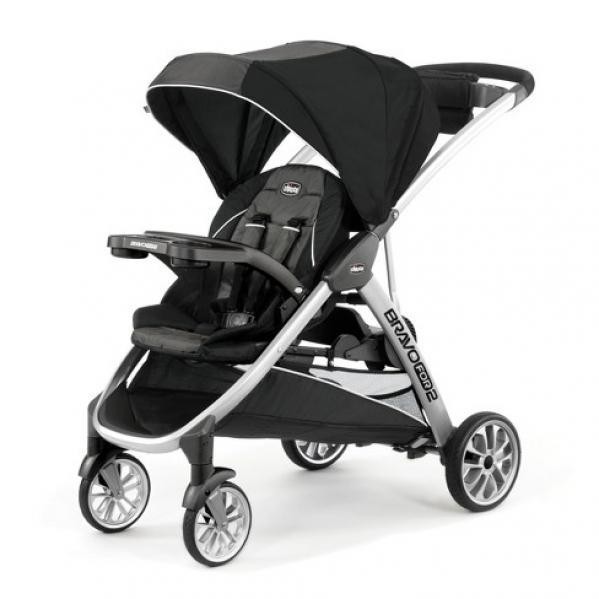 BabyQuip - Baby Equipment Rentals - Double Stroller: Chicco BravoFor2  - Double Stroller: Chicco BravoFor2  -