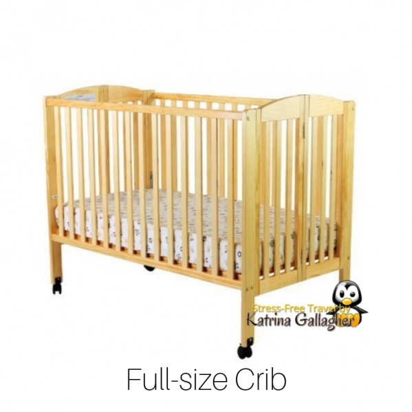 Crib - Full-size with Linens