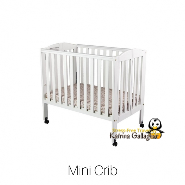 BabyQuip - Baby Equipment Rentals - Crib - Condo-size with Linens - Crib - Condo-size with Linens -