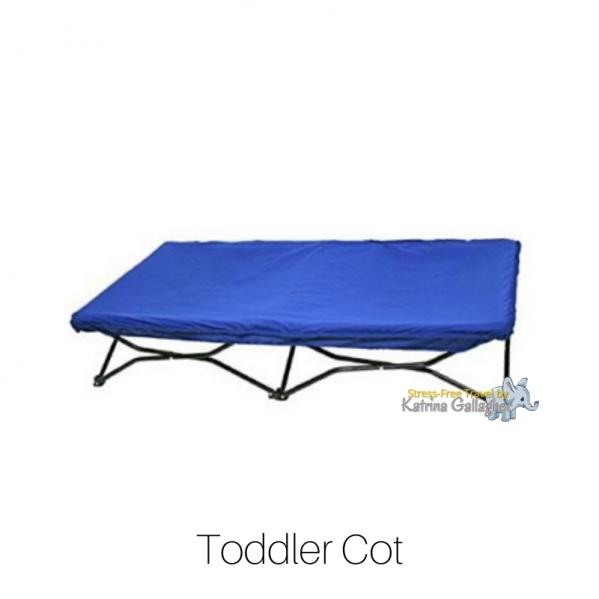 BabyQuip - Baby Equipment Rentals - Toddler Cot - Toddler Cot -