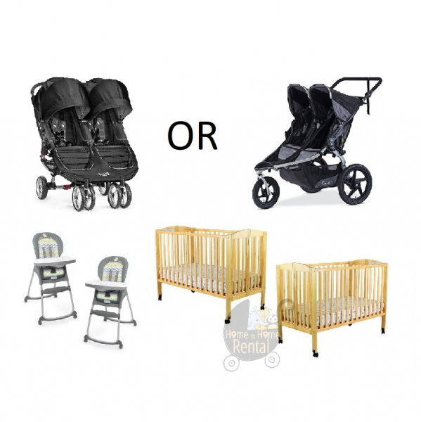 BabyQuip - Baby Equipment Rentals - Eat, Sleep, and Go for 2 - Save 15% - Eat, Sleep, and Go for 2 - Save 15% -