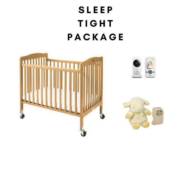 BabyQuip - Baby Equipment Rentals - Sleep Tight Package-Save $3/day - Sleep Tight Package-Save $3/day -
