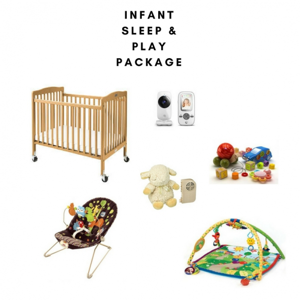 BabyQuip - Baby Equipment Rentals - Infant Sleep and Play Package- Save $5/day - Infant Sleep and Play Package- Save $5/day -