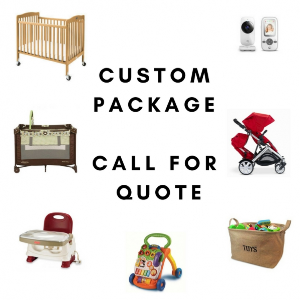 BabyQuip Baby Equipment Rentals - Custom Package - Mary Martin - Carlsbad, California