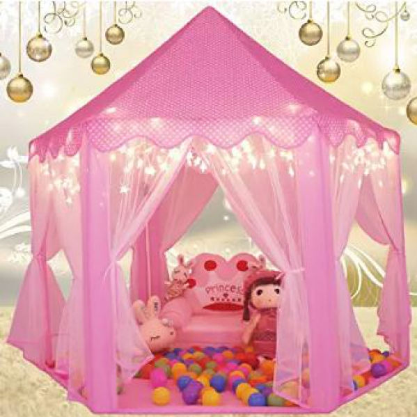 BabyQuip - Baby Equipment Rentals - Play ~ Tent/Pink - Play ~ Tent/Pink -