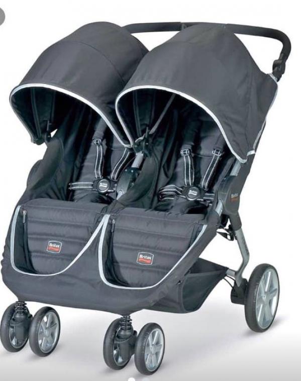 BabyQuip - Baby Equipment Rentals - Stroller ~ Double Britax - Stroller ~ Double Britax -
