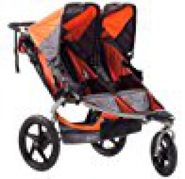 BabyQuip Baby Equipment Rentals - BOB Double Stroller - Crysten Sloan Hot - Culver City, California