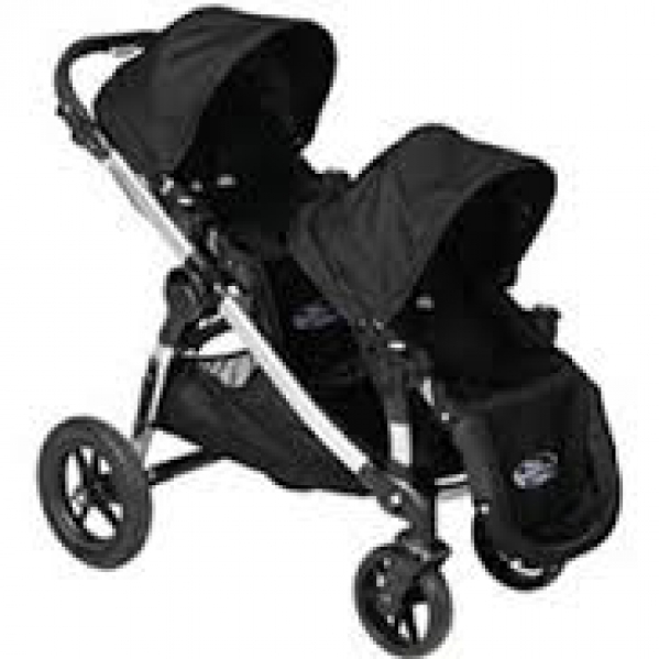 BabyQuip - Baby Equipment Rentals - Baby Jogger City Select Double Stroller - Baby Jogger City Select Double Stroller -