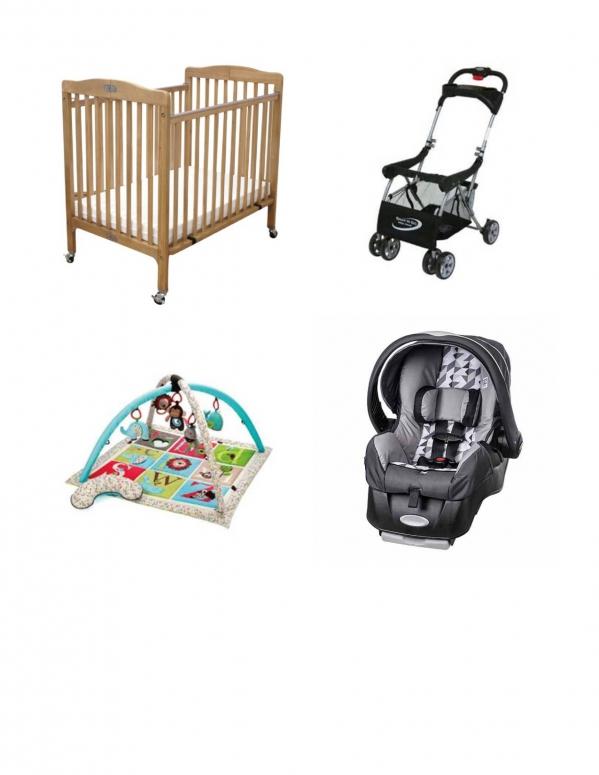 BabyQuip - Baby Equipment Rentals - Infant Package 0-6 months - Infant Package 0-6 months -