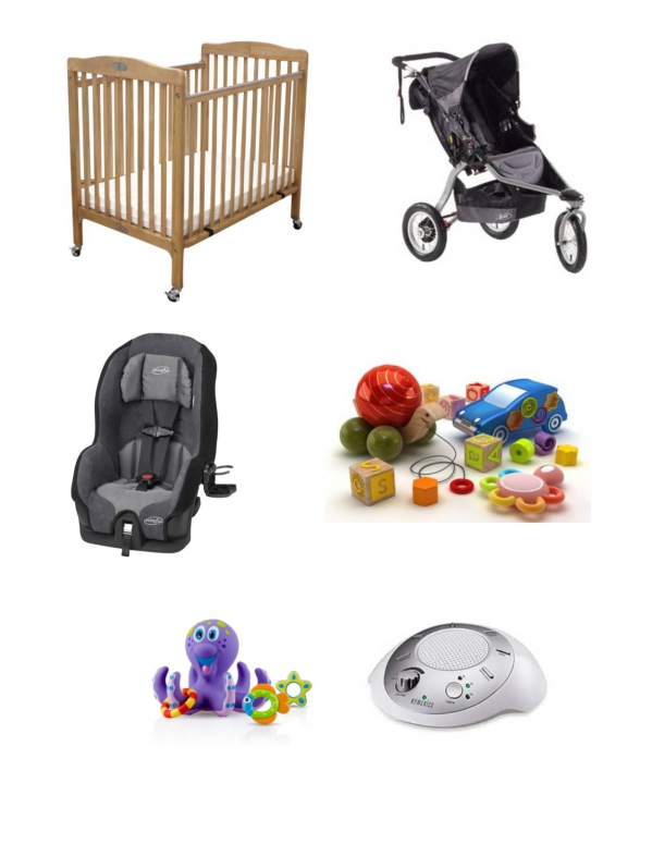 BabyQuip - Baby Equipment Rentals - Infant Package 6-18 months - Infant Package 6-18 months -