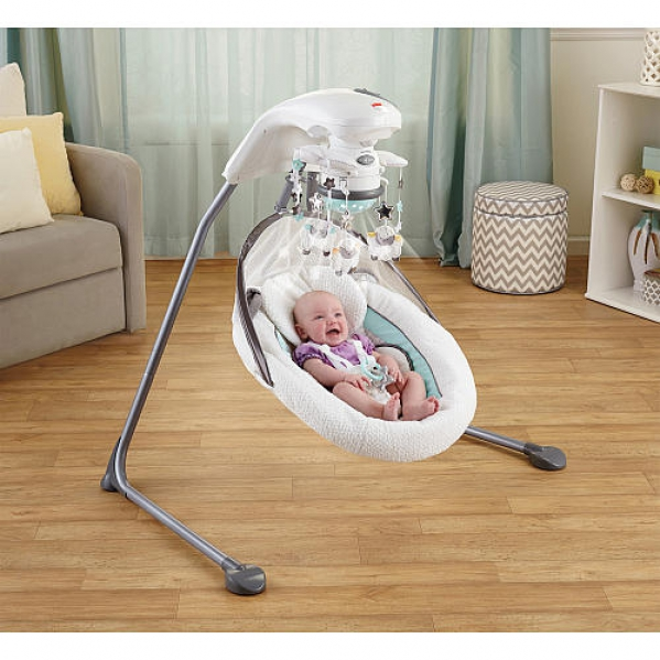 BabyQuip - Baby Equipment Rentals - Fisher Price Cradle N Swing  - Fisher Price Cradle N Swing  -