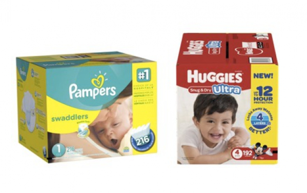 BabyQuip - Baby Equipment Rentals - Diapers & Wipes - approx 30 diapers - Diapers & Wipes - approx 30 diapers -