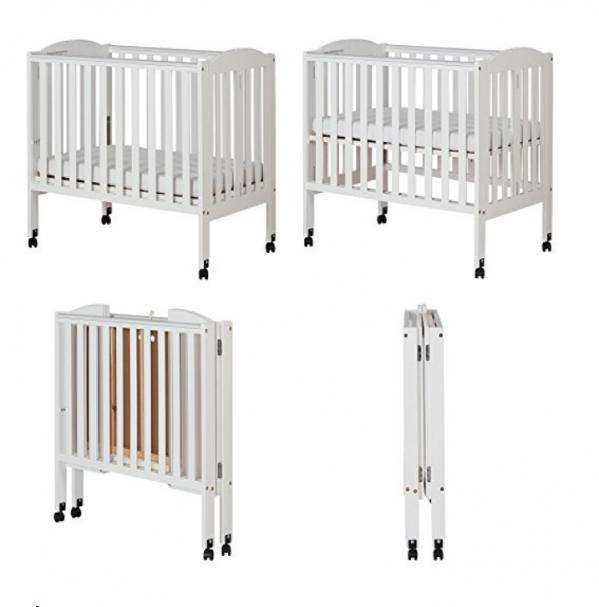 BabyQuip - Baby Equipment Rentals - Mini Folding Crib - Mini Folding Crib -
