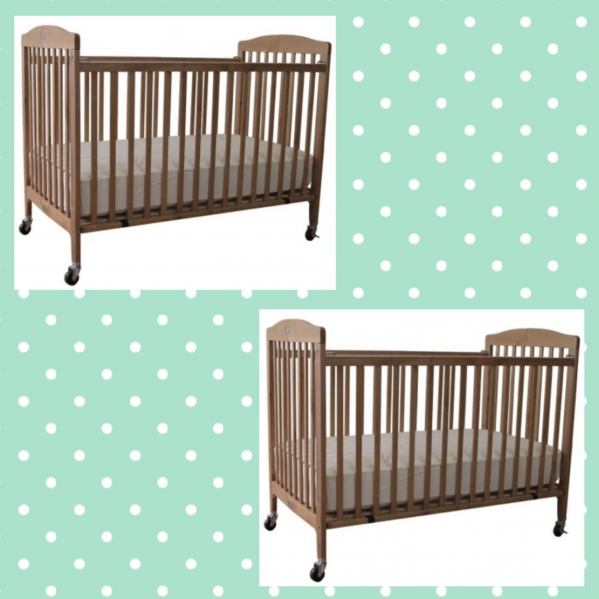 BabyQuip - Baby Equipment Rentals - 2 Full Size Folding Cribs - 2 Full Size Folding Cribs -
