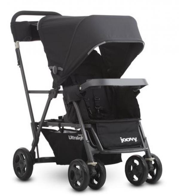 BabyQuip - Baby Equipment Rentals - Joovy Caboose Ultralight Graphite Sit N Stand  - Joovy Caboose Ultralight Graphite Sit N Stand  -