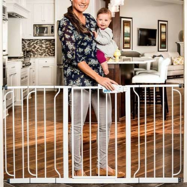 BabyQuip - Baby Equipment Rentals - Baby Gate 29-58 inches - Baby Gate 29-58 inches -