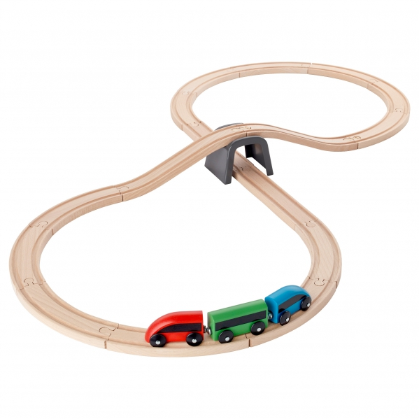 BabyQuip - Baby Equipment Rentals - Ikea Wooden Train Set - Ikea Wooden Train Set -