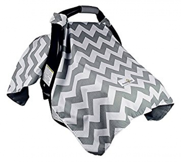 BabyQuip - Baby Equipment Rentals - Car Seat Canopy Cover - Car Seat Canopy Cover -