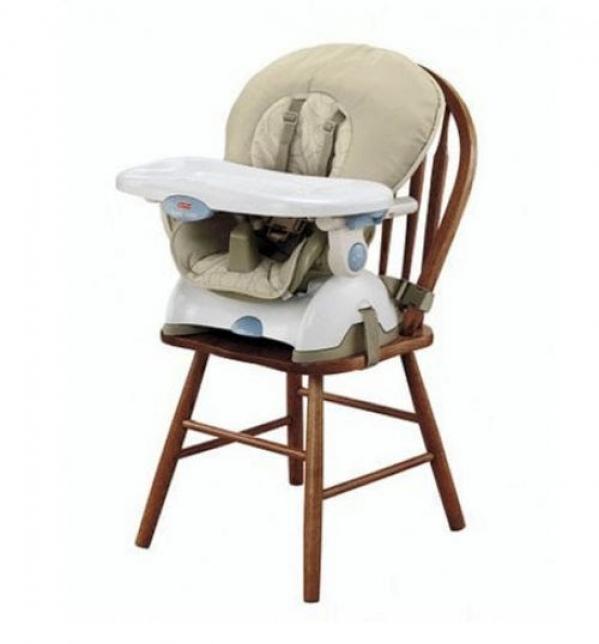 BabyQuip - Baby Equipment Rentals - Space Saving Highchair - Space Saving Highchair -