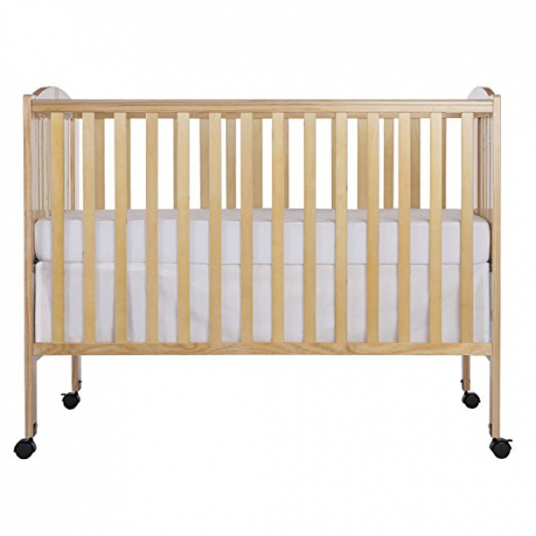 Full-Size Portable Crib with Organic Linens