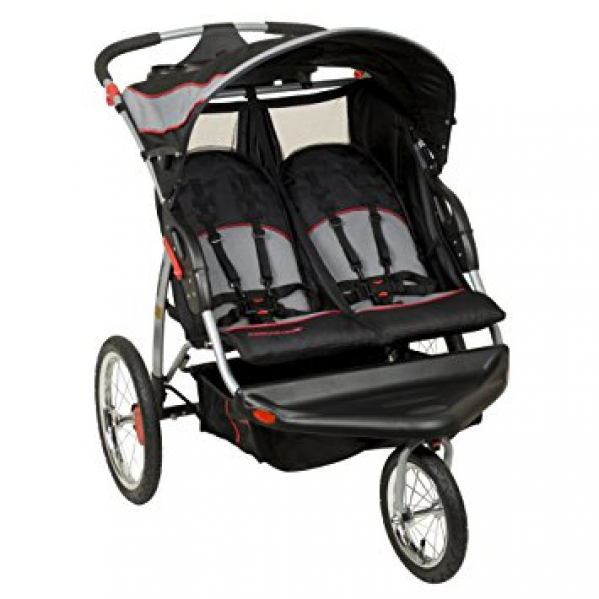 BabyQuip Baby Equipment Rentals - Baby Trend Double Jogging Stroller - Tanya White - Redwood City, California