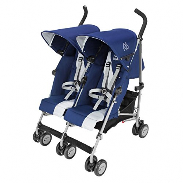 BabyQuip - Baby Equipment Rentals - Maclaren Triumph Double Umbrella Stroller - Maclaren Triumph Double Umbrella Stroller -