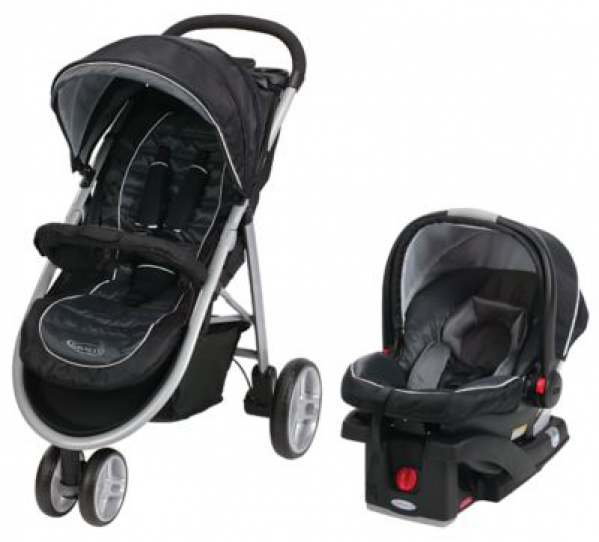 BabyQuip - Baby Equipment Rentals - Graco Click Connect Travel System - Graco Click Connect Travel System -