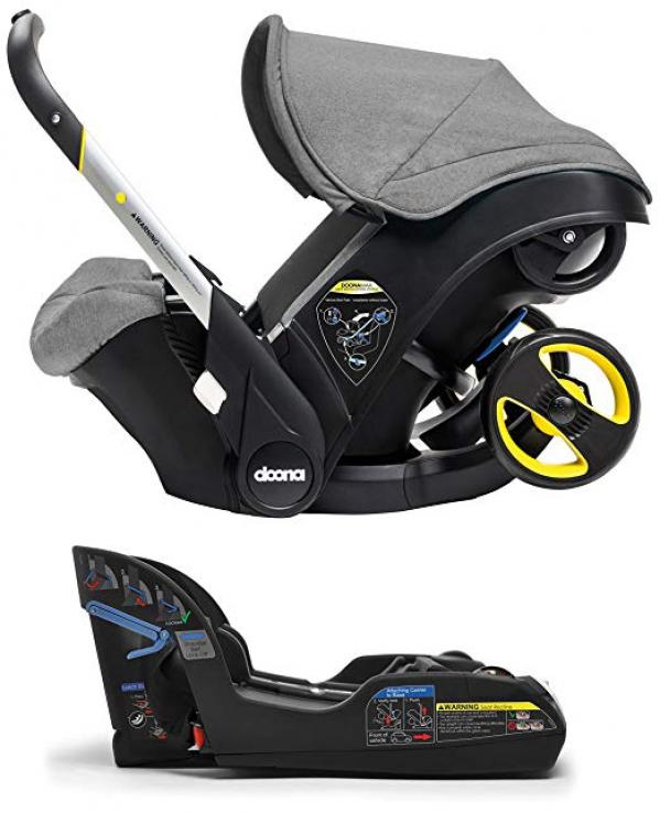 BabyQuip - Baby Equipment Rentals - Doona Car Seat & Stroller - Doona Car Seat & Stroller -
