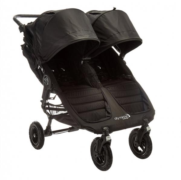 Tandem double stroller