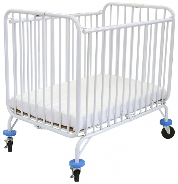 BabyQuip - Baby Equipment Rentals - Mini-size Crib with Linens - LA Baby - Mini-size Crib with Linens - LA Baby -