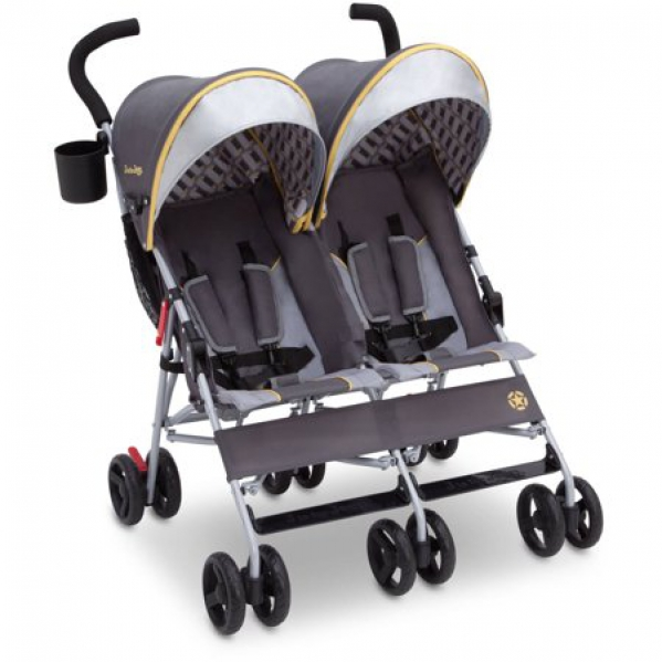 Lite and Convenient Double Stroller