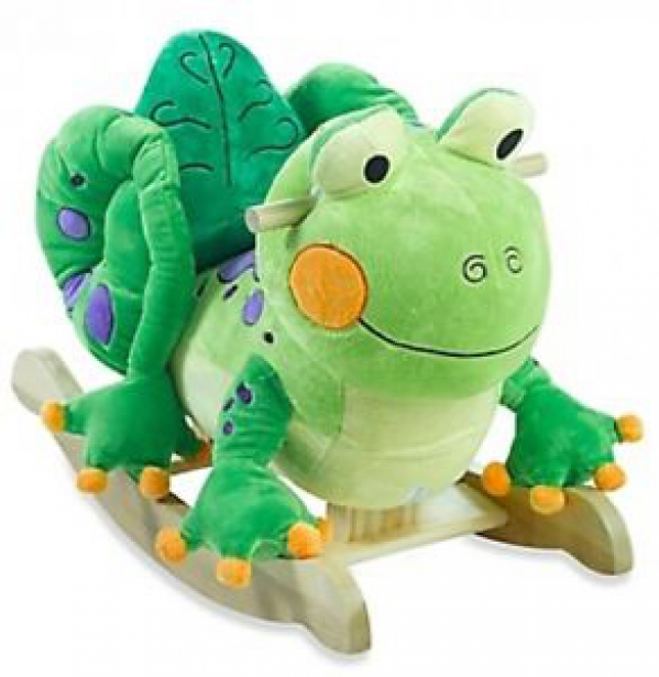 BabyQuip - Baby Equipment Rentals - Fergie the Frog Rocker - Fergie the Frog Rocker -