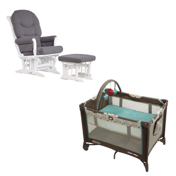 BabyQuip - Baby Equipment Rentals - Package: Rockabye Baby Lite - Package: Rockabye Baby Lite -