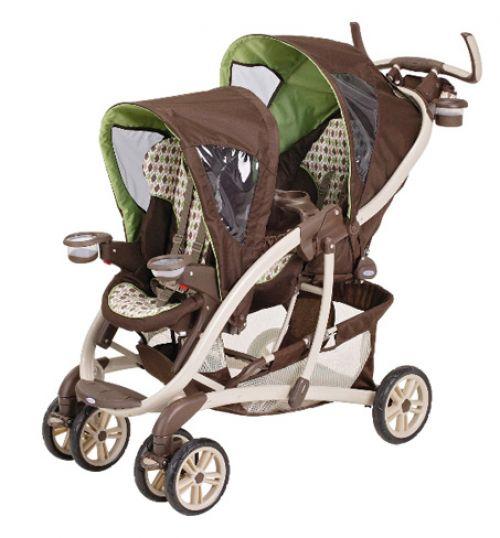 BabyQuip - Baby Equipment Rentals - Stroller: Basic Double - Stroller: Basic Double -