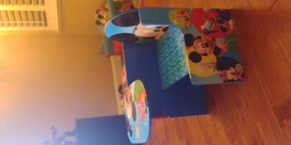 BabyQuip - Baby Equipment Rentals - Mickey mouse table  - Mickey mouse table  -