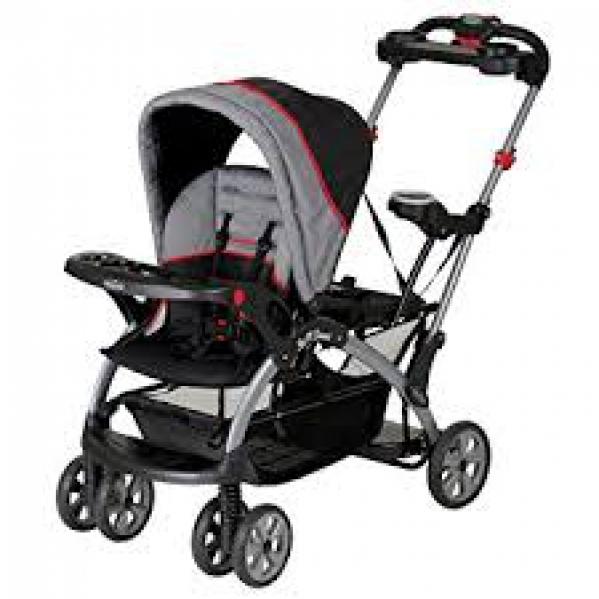 BabyQuip - Baby Equipment Rentals - Sit & Stand Stroller - Sit & Stand Stroller -