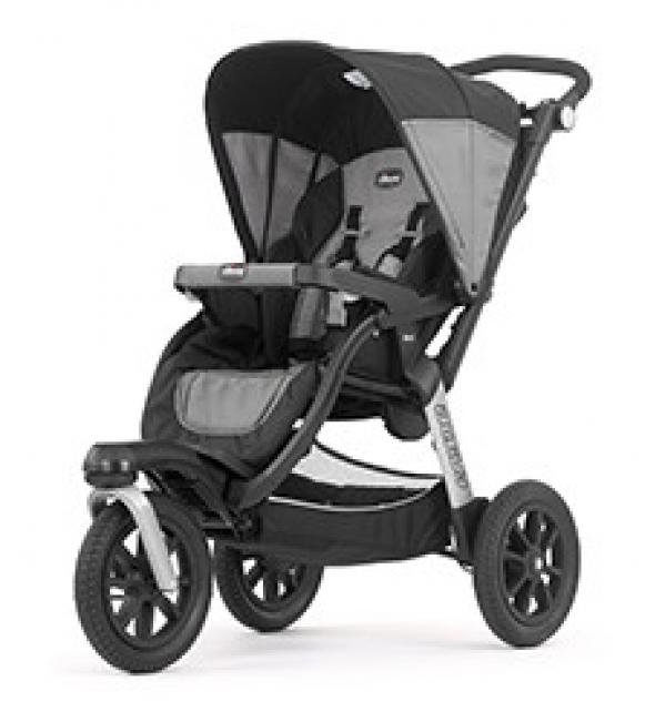 BabyQuip - Baby Equipment Rentals -  Chicco Activ3 Jogging Stroller -  Chicco Activ3 Jogging Stroller -